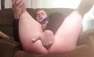 Huge ass fisting hardcore and using huge toys
