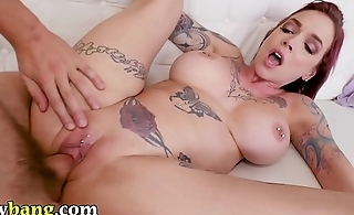 TRYBANG.COM - Tyler Nixon Makes His MILF Stepmom Anna Bell Peaks Squirt