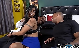Spizoo - Latin Milf Gabby Quinteros is punished by One BBC, big boobs &amp_ big booty