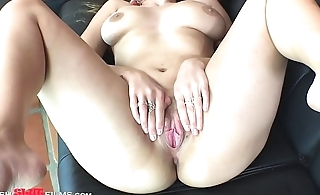 Busty Russian Teen Ivy Rose Spreads All Her Fuck Holes!