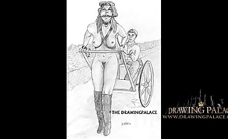 DrawingPalace.com Hand drawn sex cartoons and 3d animated sex