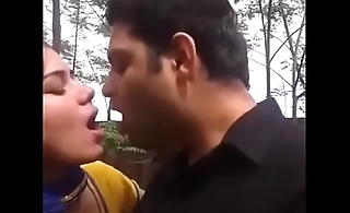 Desi schoolgirl in park with boyfriend FOR FULL VIDEO FOLLOW @paid stufff at bottom Instagram