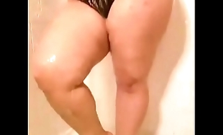 Pawg in shower