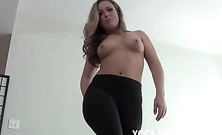 I will jerk you off in those yoga pants you love so much JOI