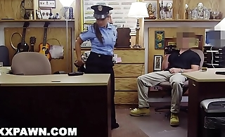 XXX PAWN - Juicy Latin Police Officer No Speaky English, Desperate For Money!