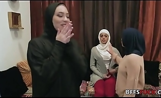 Babes in Hijab fuck a BBC