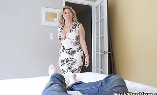 Big Tits Stepmom Bails Son To Fuck Her