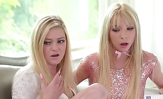 Spoiled step siblings and the squirter Mommy - Chloe Foster, Nina Elle and Kenzie Reeves