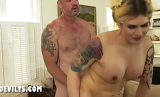 Hardcore anal and a huge fuck with a milf