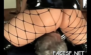 White playgirl gets her big tits and ass licked by black dude