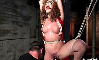 Keel over suspension hogtie be fitting of redhead