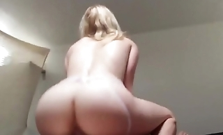Big Titted British StepSister Riding Cock and Takes Facial