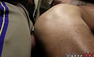 Big dicked hunks have breeding piss combo unite with cumshot