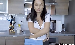 MILF Stepmom Helps Son With Homework